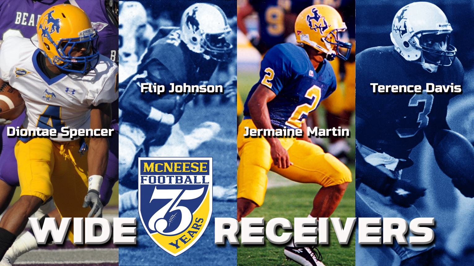 Playmakers Compose All 75th Anniversary Wr List Mcneese State University Athletics