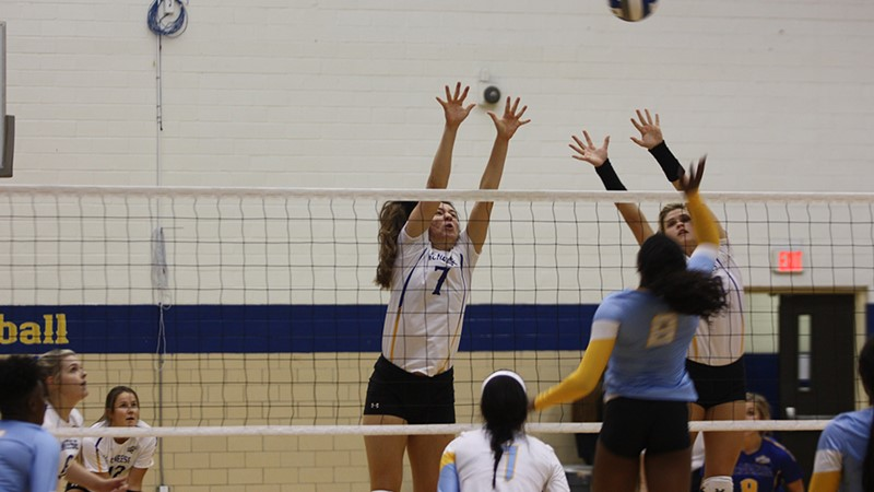 Volleyball Drops SLC Opener At Sam Houston State - McNeese