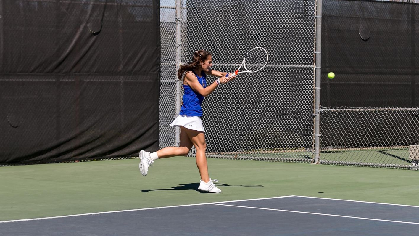 Ana Milojkovic cowgirls double knocks off pac-12 opponent at san diego